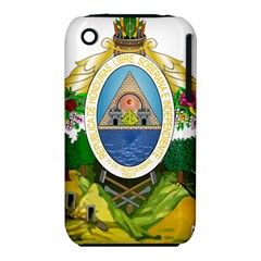 Coat Of Arms Of Honduras Apple iPhone 3G/3GS Hardshell Case (PC+Silicone)