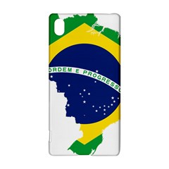 Flag Map Of Brazil  Sony Xperia Z3+