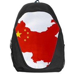 Flag Map Of China Backpack Bag