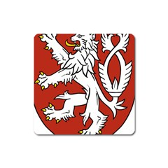 Bohemia Coat Of Arms  Square Magnet