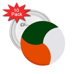Irish Air Corps Roundel 2.25  Buttons (10 pack)