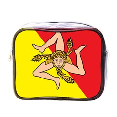 Coat Of Arms Of Sicily Mini Toiletries Bags