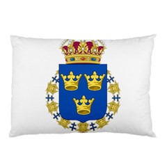 Lesser Coat Of Arms Of Sweden Pillow Case
