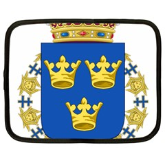Lesser Coat Of Arms Of Sweden Netbook Case (XXL)
