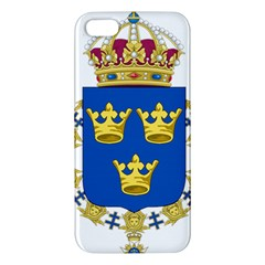 Lesser Coat Of Arms Of Sweden Apple iPhone 5 Premium Hardshell Case
