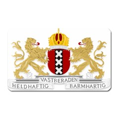 Amsterdam Coat Of Arms  Magnet (Rectangular)