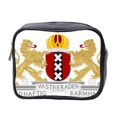 Amsterdam Coat Of Arms  Mini Toiletries Bag 2-Side