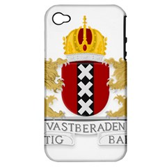 Amsterdam Coat Of Arms  Apple iPhone 4/4S Hardshell Case (PC+Silicone)