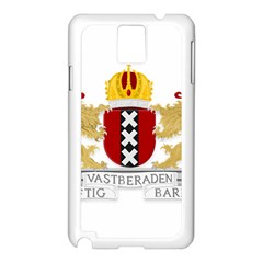 Amsterdam Coat Of Arms  Samsung Galaxy Note 3 N9005 Case (White)