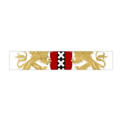Amsterdam Coat Of Arms  Flano Scarf (Mini)