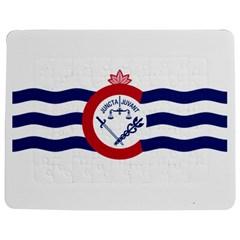 Flag Of Cincinnati Jigsaw Puzzle Photo Stand (rectangular)