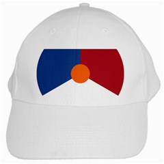 Roundel Of The Royal Netherlands Air Force White Cap