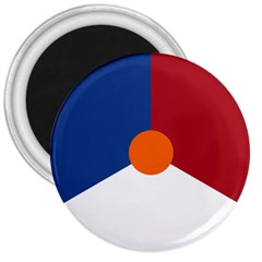 Roundel Of The Royal Netherlands Air Force 3  Magnets
