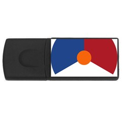 Roundel Of The Royal Netherlands Air Force USB Flash Drive Rectangular (1 GB)