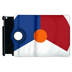 Roundel Of The Royal Netherlands Air Force Apple iPad 3/4 Flip 360 Case