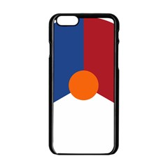 Roundel Of The Royal Netherlands Air Force Apple iPhone 6/6S Black Enamel Case