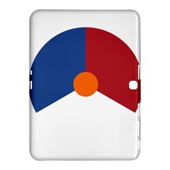 Roundel Of The Royal Netherlands Air Force Samsung Galaxy Tab 4 (10.1 ) Hardshell Case