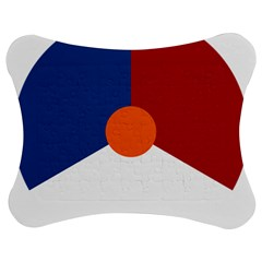 Roundel Of The Royal Netherlands Air Force Jigsaw Puzzle Photo Stand (Bow)