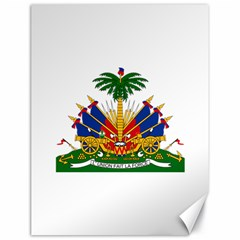Coat Of Arms Of Haiti Canvas 18  x 24