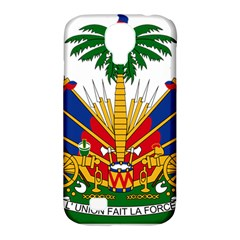 Coat Of Arms Of Haiti Samsung Galaxy S4 Classic Hardshell Case (PC+Silicone)