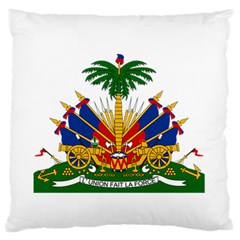 Coat Of Arms Of Haiti Standard Flano Cushion Case (Two Sides)