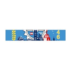 Flag Of Milwaukee Flano Scarf (Mini)