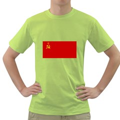 Flag Of The Soviet Union  Green T-Shirt
