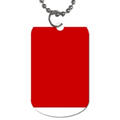 Flag Of The Soviet Union  Dog Tag (One Side)