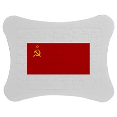 Flag Of The Soviet Union  Jigsaw Puzzle Photo Stand (Bow)