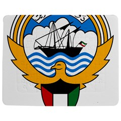 Emblem Of Kuwait  Jigsaw Puzzle Photo Stand (Rectangular)
