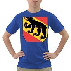 Coat Of Arms Of Bern Canton  Dark T-Shirt