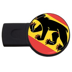 Coat Of Arms Of Bern Canton  USB Flash Drive Round (4 GB)