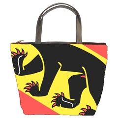 Coat Of Arms Of Bern Canton  Bucket Bags