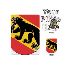 Coat Of Arms Of Bern Canton  Playing Cards 54 (Mini)