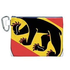 Coat Of Arms Of Bern Canton  Canvas Cosmetic Bag (XL)