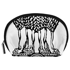 Emblem Of India Accessory Pouches (Large)