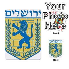 Emblem Of Jerusalem Multi-purpose Cards (Rectangle)