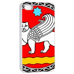 Seal Of Samarkand  Apple iPhone 4/4s Seamless Case (White)