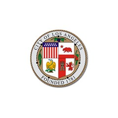 City Of Los Angeles Seal Golf Ball Marker (4 pack)