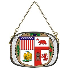 City Of Los Angeles Seal Chain Purses (One Side)