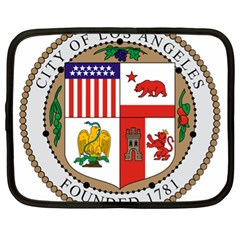 City Of Los Angeles Seal Netbook Case (XL)