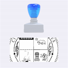 City Of Los Angeles Seal Rubber Stamps (Medium)