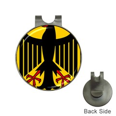 Coat Of Arms Of Germany Hat Clips with Golf Markers