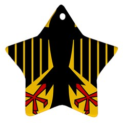 Coat Of Arms Of Germany Star Ornament (Two Sides)