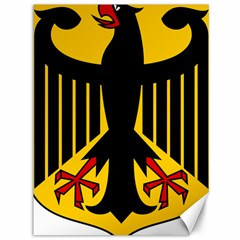 Coat Of Arms Of Germany Canvas 36  x 48