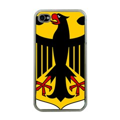 Coat Of Arms Of Germany Apple iPhone 4 Case (Clear)
