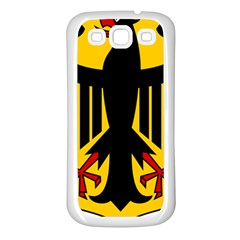 Coat Of Arms Of Germany Samsung Galaxy S3 Back Case (White)