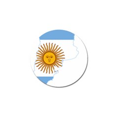 Flag Map Of Argentina Golf Ball Marker (4 pack)