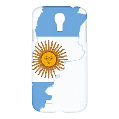 Flag Map Of Argentina Samsung Galaxy S4 I9500/I9505 Hardshell Case