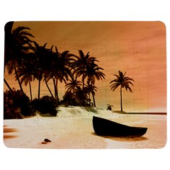 Wonderful Sunset Over The Beach, Tropcal Island Jigsaw Puzzle Photo Stand (Rectangular)